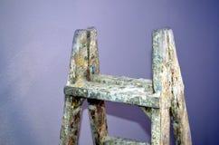 Vecchia scala da dipingere Immagine Stock Libera da Diritti