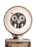 Vecchia scala industriale dell'equilibrio Fotografie Stock Libere da Diritti