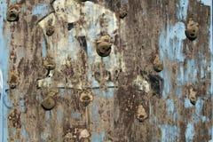 Vecchia scalata wal Fotografia Stock