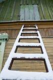 Vecchia scaletta Fotografia Stock