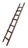Vecchia scaletta di legno Fotografia Stock Libera da Diritti