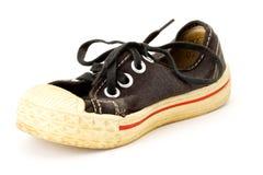 Vecchia scarpa da tennis Immagine Stock Libera da Diritti