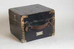 Vecchia scatola Fotografie Stock Libere da Diritti