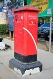 Vecchia scatola della posta di posta della Tailandia Fotografia Stock Libera da Diritti