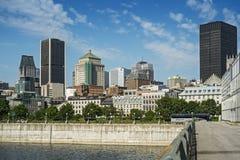 Vecchia scena di Montreal Fotografie Stock