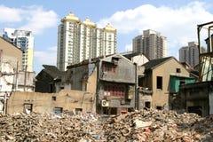 Vecchia Schang-Hai, Cina Fotografie Stock Libere da Diritti