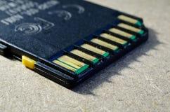 Vecchia scheda di memoria di deviazione standard Fotografia Stock Libera da Diritti