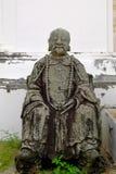 Vecchia scultura di Chainese Fotografie Stock Libere da Diritti