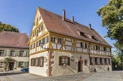 Vecchia scuola latina in Weissenburg Fotografia Stock Libera da Diritti