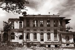Vecchia scuola a Penang Fotografia Stock