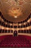 Vecchia sede della riunione del teatro Fotografia Stock Libera da Diritti