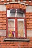 Vecchia serie della città Fotografia Stock Libera da Diritti