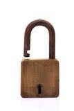 Vecchia serratura immagini stock
