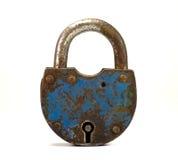 Vecchia serratura immagine stock