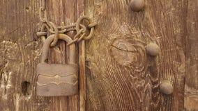 Vecchia serratura Fotografia Stock Libera da Diritti