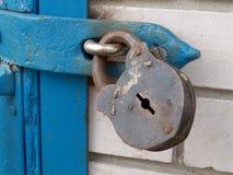 Vecchia serratura arrugginita Fotografie Stock Libere da Diritti