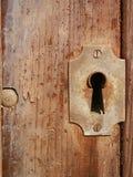 Vecchia serratura del ferro Immagini Stock