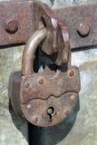 Vecchia serratura di cuscinetto fotografia stock libera da diritti