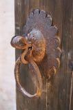 Vecchia serratura di portello Immagine Stock Libera da Diritti
