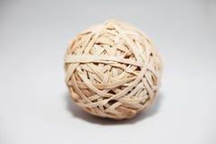Vecchia sfera dell'elastico Fotografia Stock