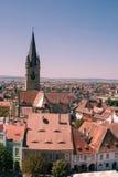 Vecchia Sibiu concentrare Fotografia Stock