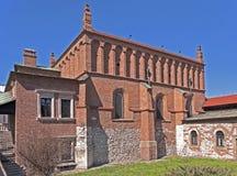 Vecchia sinagoga a Cracovia Immagini Stock Libere da Diritti