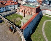 Vecchia sinagoga a Cracovia, Polonia Fotografie Stock Libere da Diritti