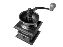 Vecchia smerigliatrice di caffè Immagine Stock Libera da Diritti