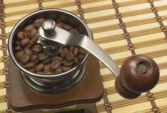 Vecchia smerigliatrice di caffè Fotografie Stock