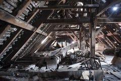 Vecchia soffitta Immagine Stock Libera da Diritti