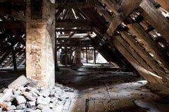 Vecchia soffitta Fotografia Stock