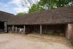 Vecchia stalla Fotografia Stock