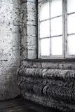 Vecchia stanza Fotografia Stock Libera da Diritti