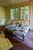 Vecchia stanza abbandonata Immagini Stock Libere da Diritti