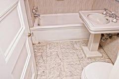Vecchia stanza del bagno Immagine Stock