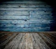 Vecchia stanza di legno Immagine Stock