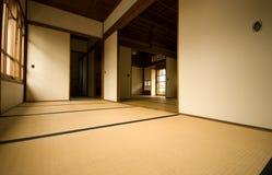 Vecchia stanza giapponese. immagine stock