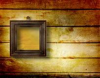 Vecchia stanza, interiore del grunge con i blocchi per grafici Immagini Stock