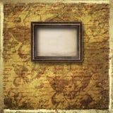 Vecchia stanza, interno di lerciume con i blocchi per grafici Fotografia Stock