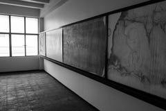 Vecchia stanza vuota Immagini Stock