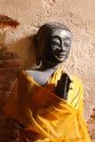 Vecchia statua Buddha Immagini Stock
