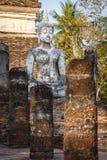 Vecchia statua del Buddha Fotografia Stock Libera da Diritti