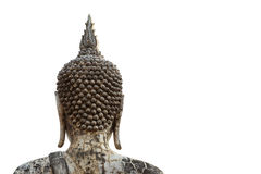 Vecchia statua del Buddha Immagini Stock Libere da Diritti