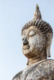 Vecchia statua del Buddha Fotografia Stock