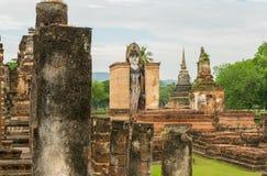 Vecchia statua del buddha in Tailandia Immagine Stock Libera da Diritti