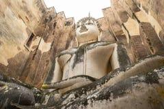 Vecchia statua del buddha in Tailandia Fotografia Stock Libera da Diritti