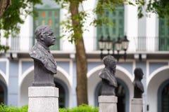 Vecchia statua di antiguo di viejo di casco di Panamá Immagini Stock Libere da Diritti