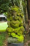 Vecchia statua di Lord Ganesha Fotografia Stock