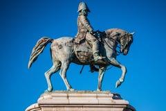 Vecchia statua generale Immagine Stock