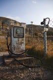 Vecchia stazione di servizio Immagine Stock